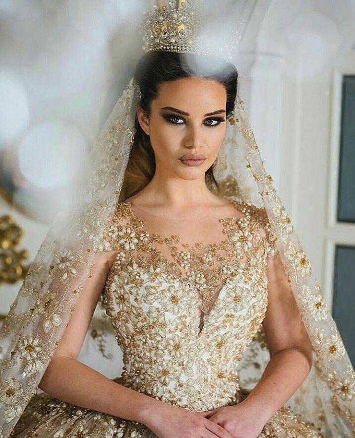 Beautiful Gold Wedding Dresses: Dream Wedding Dresses, Gold