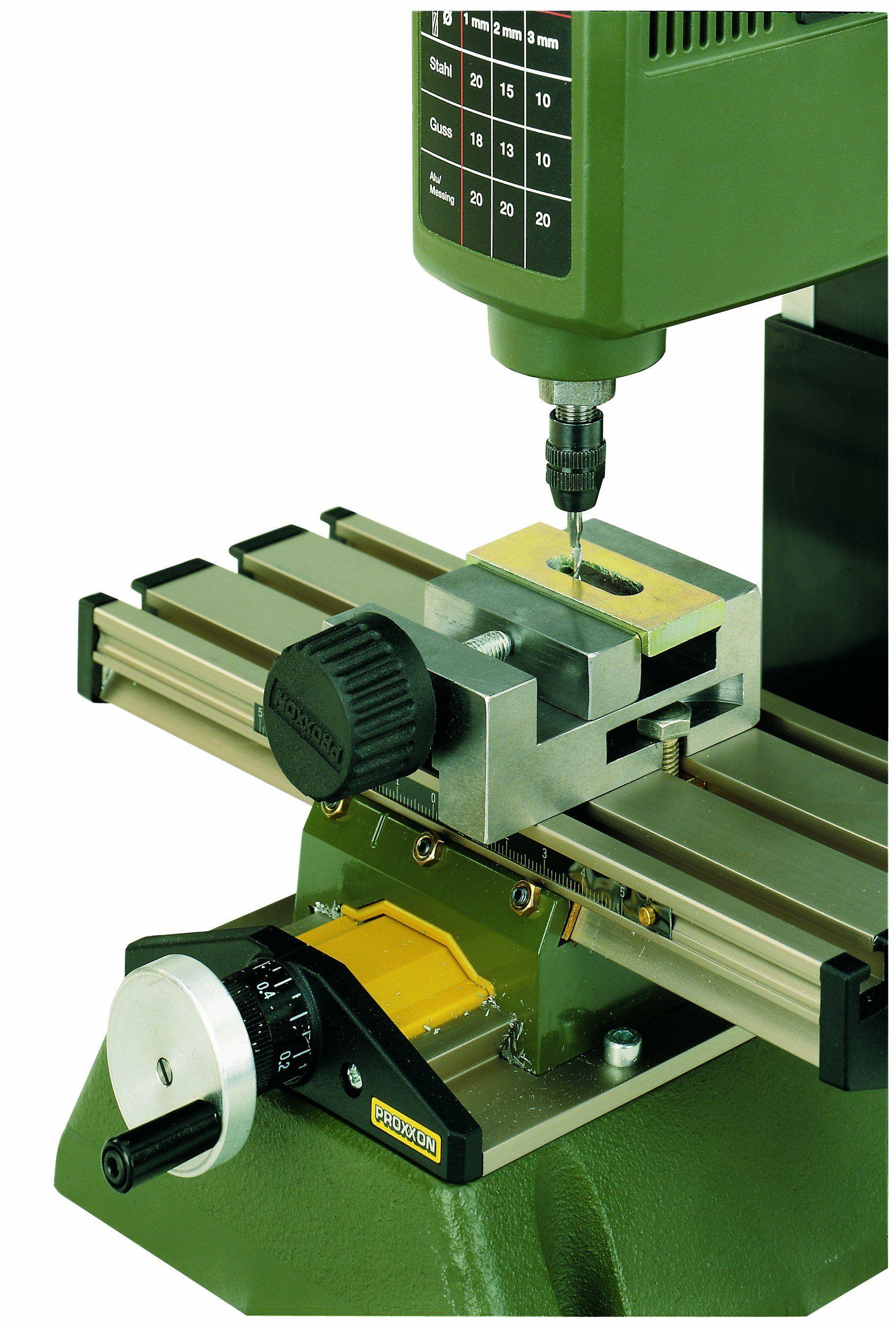 Amazon Com Proxxon 24260 Precision Machine Vise For Mf 70 Home Improvement Best Portable Air Compressor Machine Milling Machine For Sale