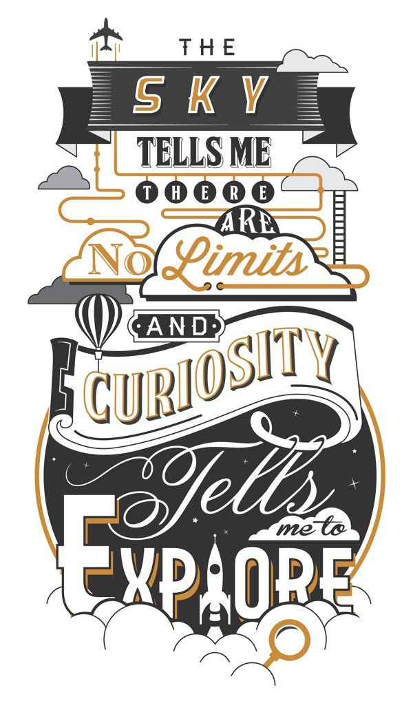 50 Gorgeously Illustrated Typography Quotes To Kickstart Your Creativity – Design School