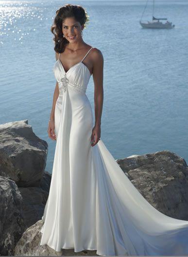 beach wedding dresses for older brides | Beautiful wedding dresses ...