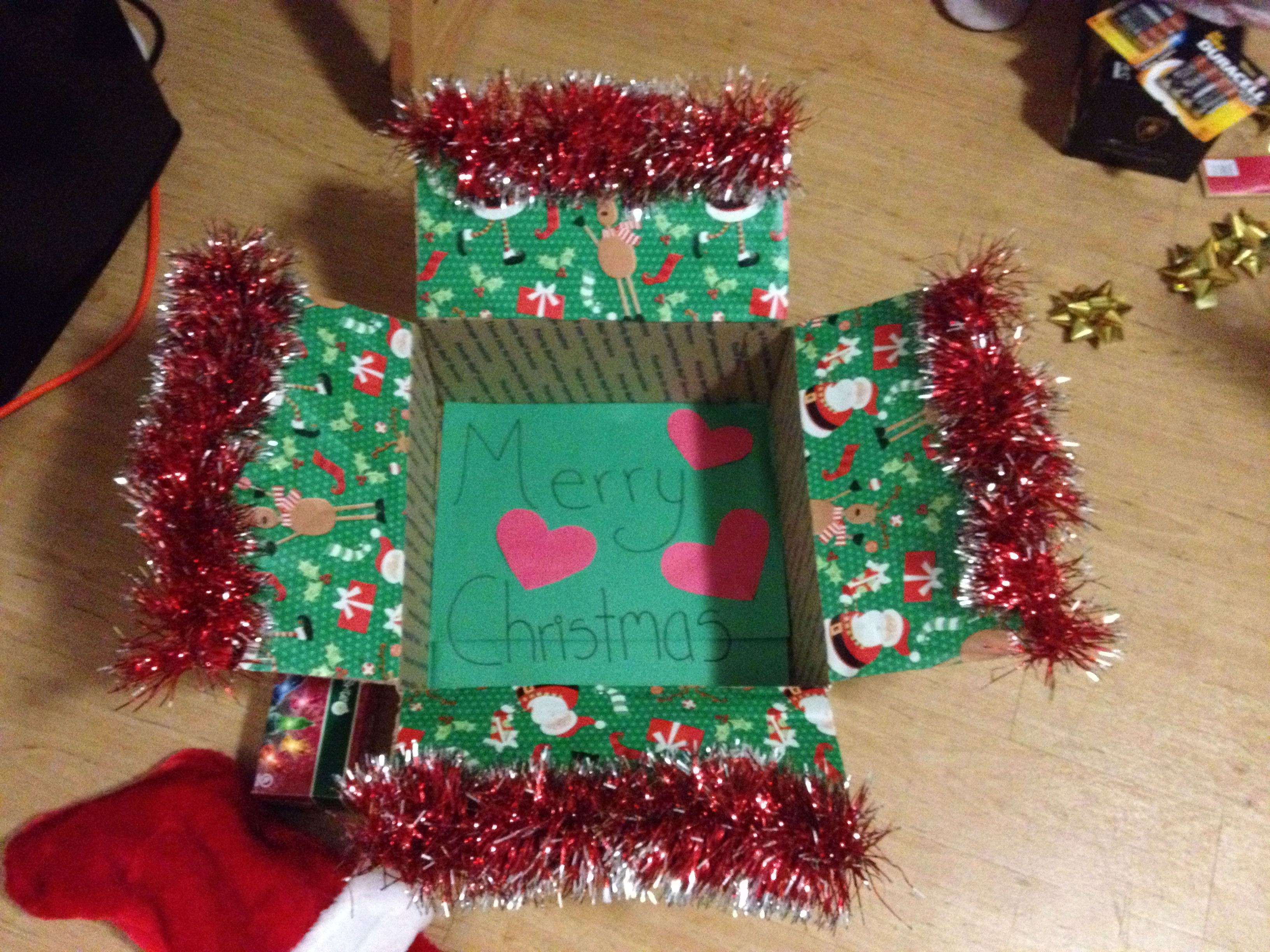 Christmas care package decorations ❤ … | Navy Car…