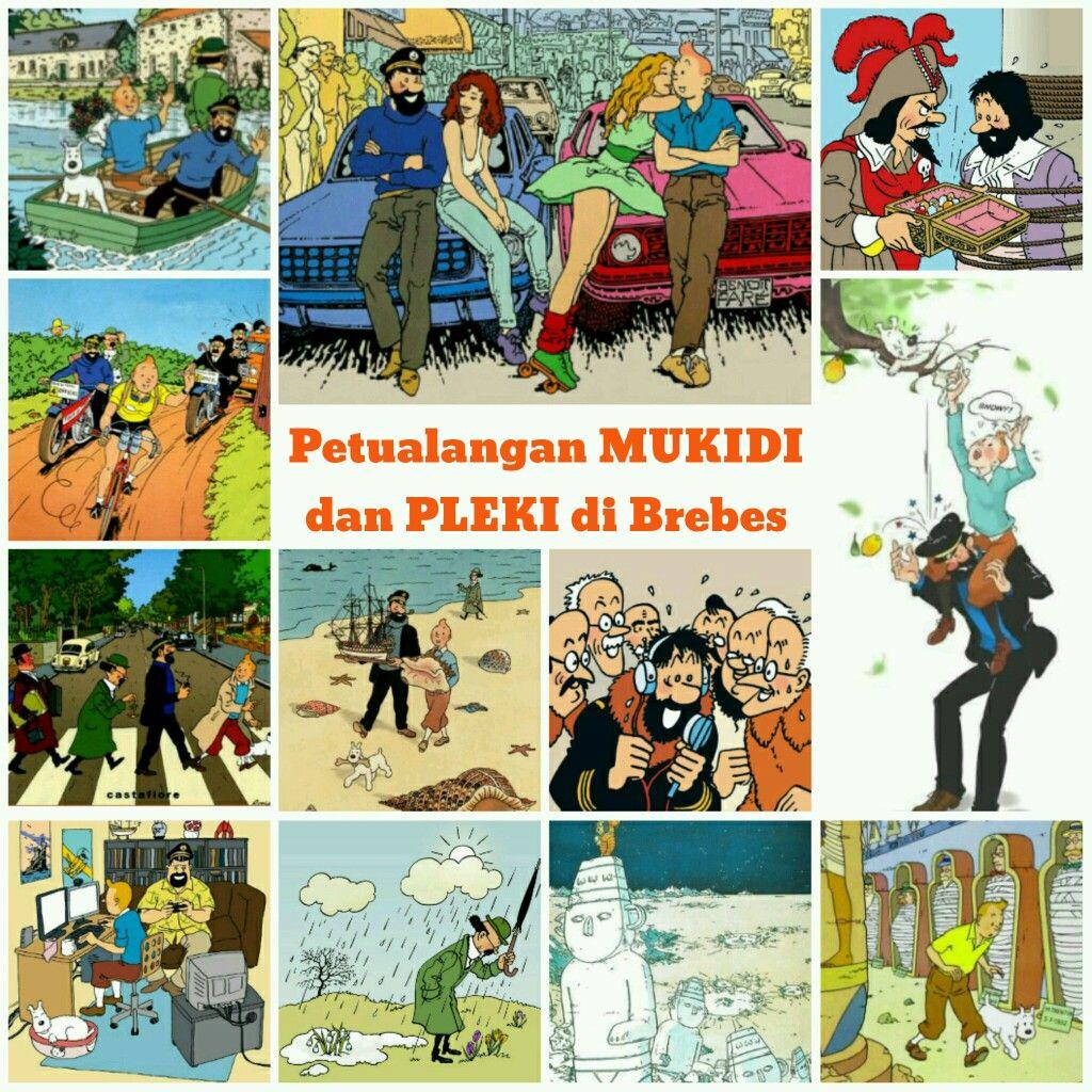 Petualangan Mukidi Dan Pleki Di Brebes Sundanese And Javanese