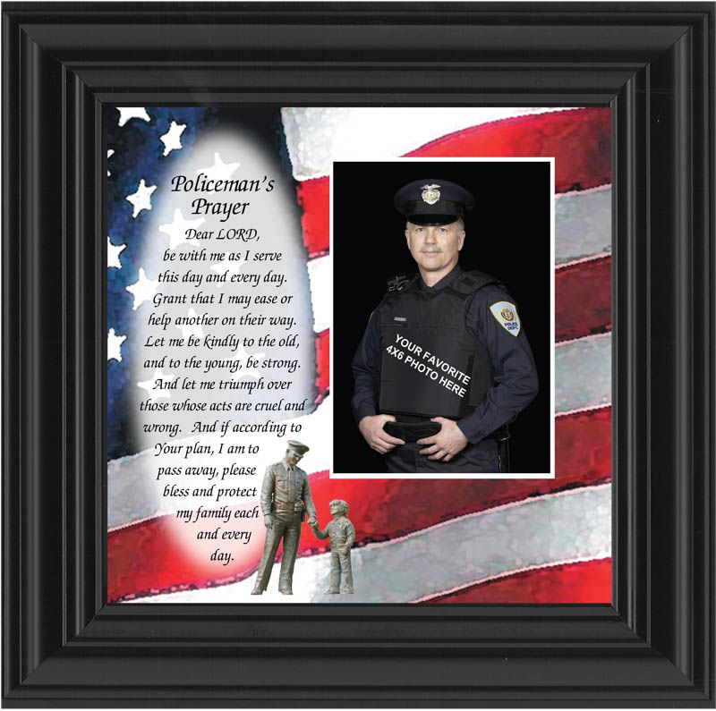 Policeman\'s Prayer Awards and Gifts for Police and Law Enforcement ...