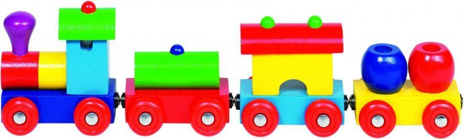 Houten Trein Peru Met Magneetkoppeling Speelgoed Treinen Trein Houten Speelgoed