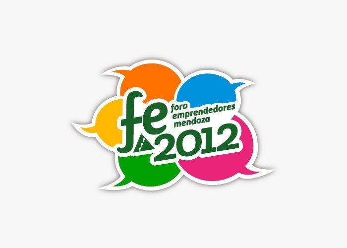 Diseño de marca para evento Foro Emprendedores 2012