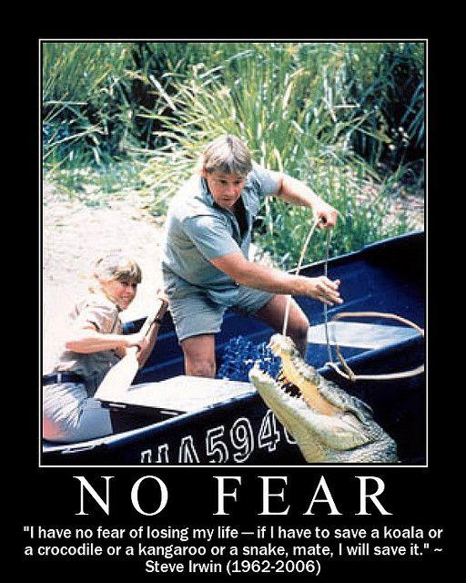 Steve Irwin Truly Showed No Fear A Photo On Flickriver Steve Irwin Irwin Family Crocodile Hunter