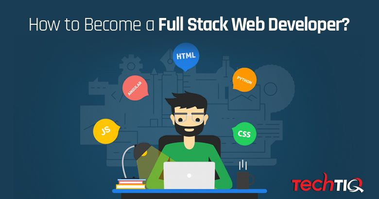 A full stack web developer is hot in recent years