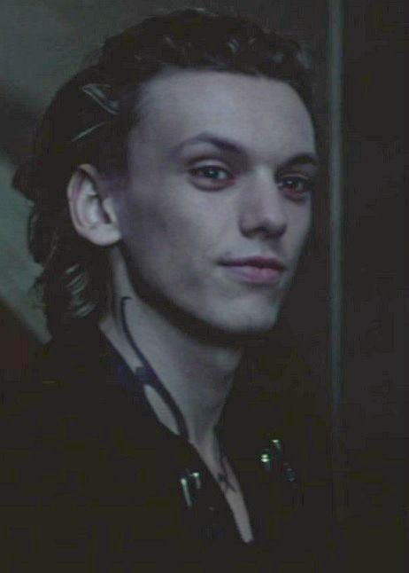 Jamie Campbell Bower as Jace Wayland in The Mortal ...