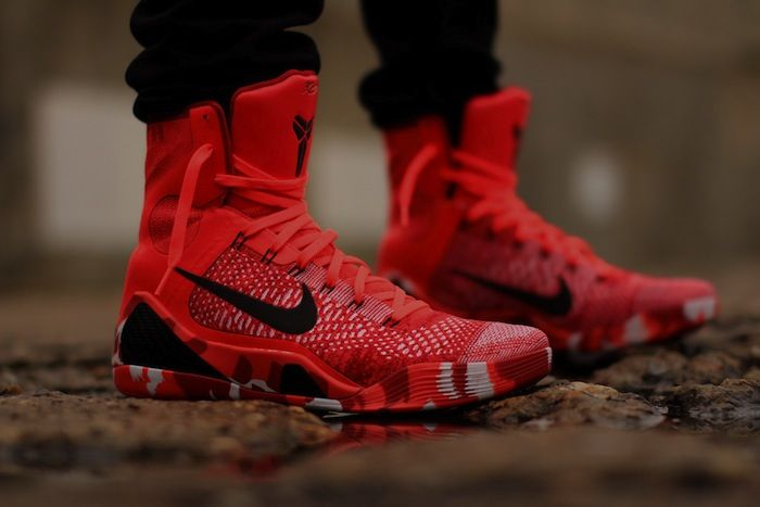 Kobe 9 Elite Christmas.Kobe 9 Elite Christmas On Feet Photos Universal Style