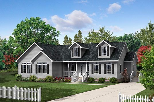 Beautiful 2 000 Sq Ft 2 Story Modular Built Home With A Nice Front And Back Porch Exterior House Remodel Modular Home Floor Plans Modular Homes