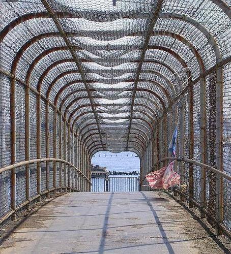 Original India Point Park Bridge