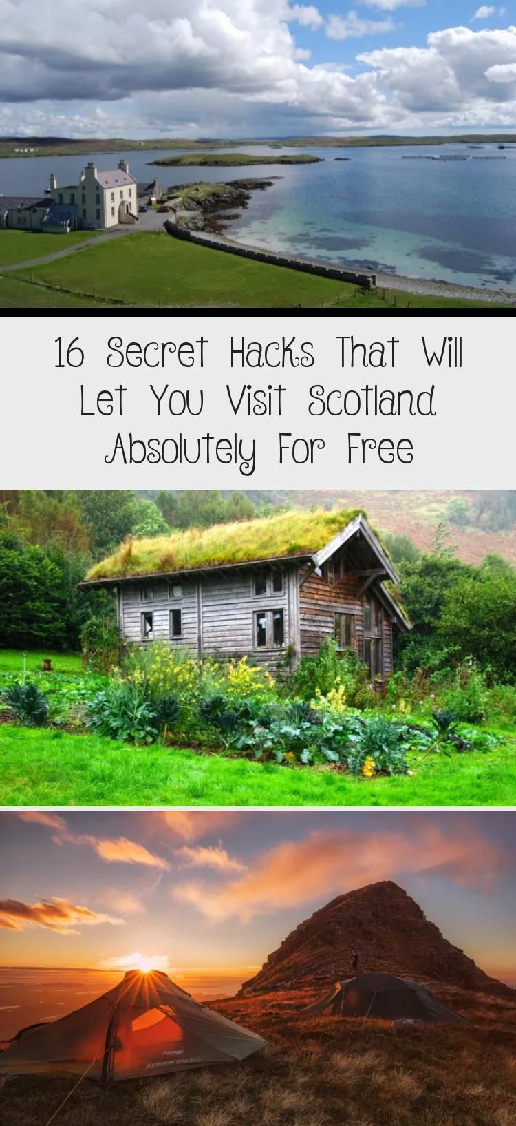 Fancy staying at a posh Highland estate or a fancy Edinburgh flat for free Then this article is for you