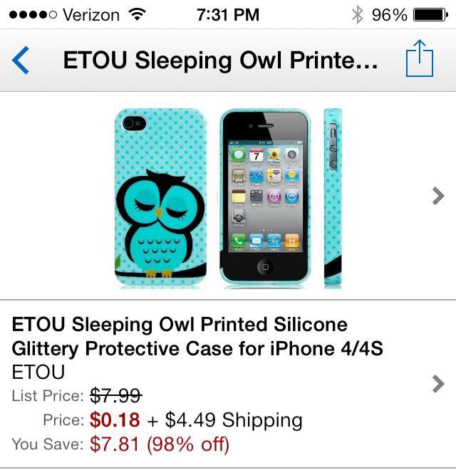 Owl phone case amazon.com