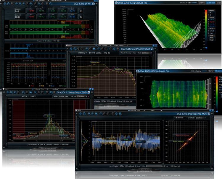 Blue Cat Audio Analysis Pack Plugin Bundle Audio