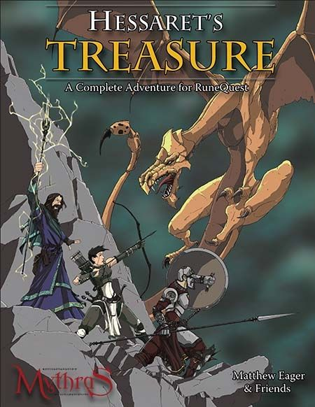 Hessaret's Treasure - Design Mechanism | DriveThruRPG.com