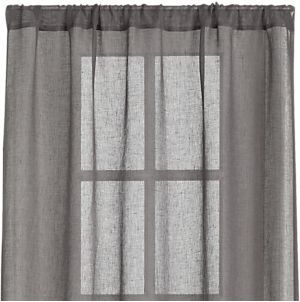 Ross Natural Sheer 54x84 Curtain Panel Curtains Natural Curtains Linen Curtain Panels