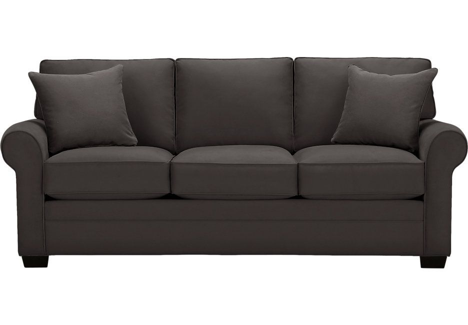 Cindy Crawford Home Bellingham Slate Sofa 599 99 88w X 38d 37h Find Affordable Sofas For Your That Will Complement The Rest Of Furniture