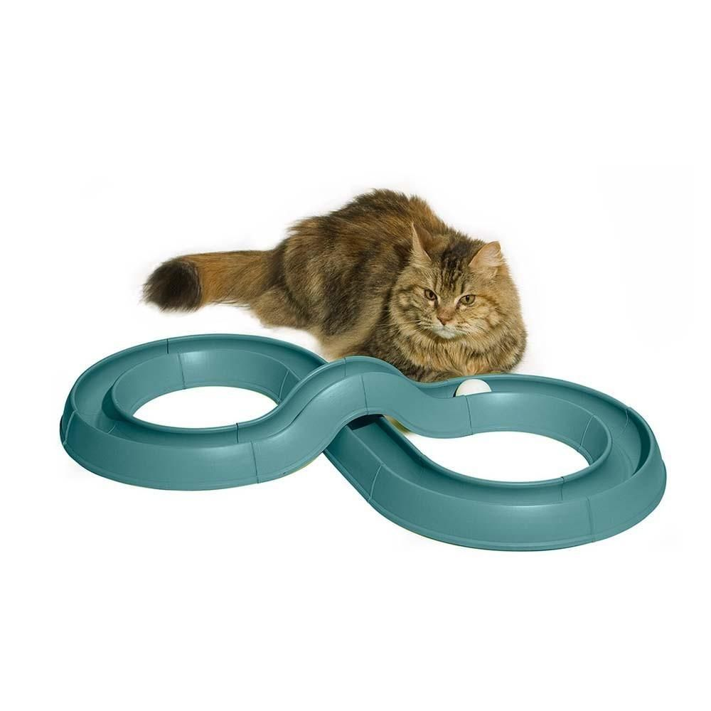 Bergan Turbo Track Cat Toy Cool pets, Cat toys, Cats