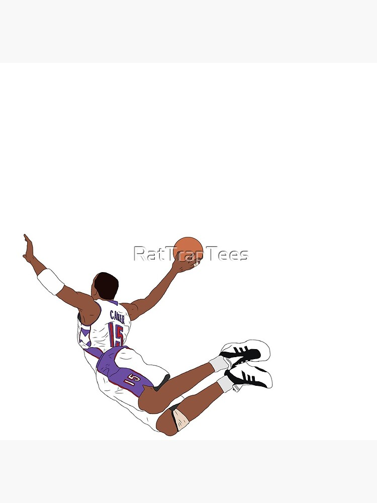 Vince Carter Dunk Clock By Rattraptees Redbubble Kobe Bryant Wallpaper Nba Wallpapers Vince