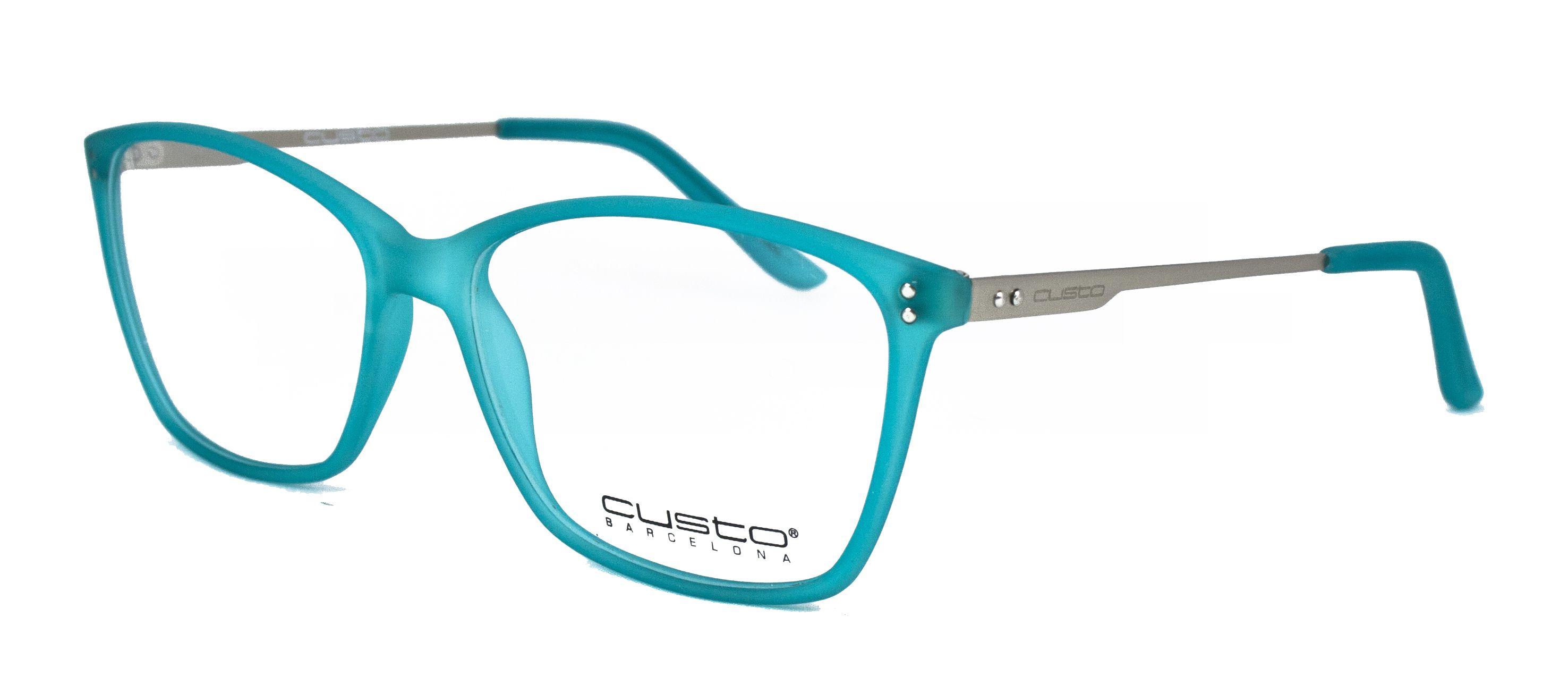 Por Barcelona Custo Gafas OpticaliaMontura Turquesa Diseñadas Para OZTikXuP