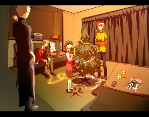 "persona-4: "" A very Persona Christmas. "" 
