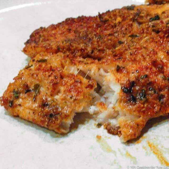Oven Baked Parmesan Crusted Tilapia  - Food -