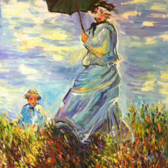 Intentando aprender de Monet
