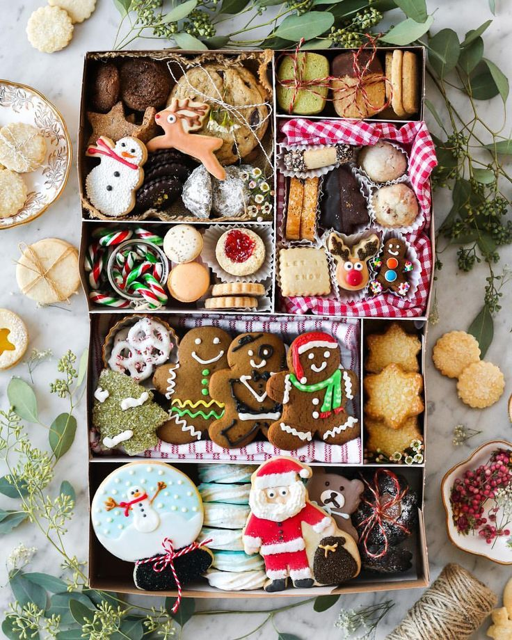 "Photo of amy h. on Instagram: ""' tis the season for this year's cookie box! so many of you have been asking me to do a 'cookie box 101' on my blog since i posted the… """