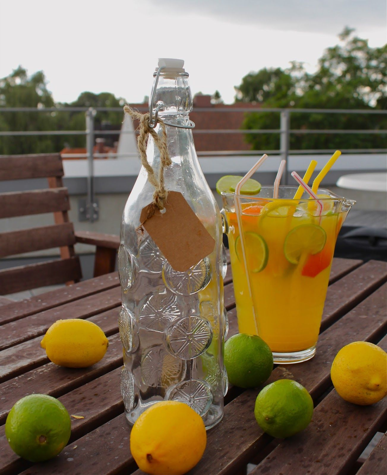 Pam´s Küchenzauber: Orangen-Zitronen-Limonade