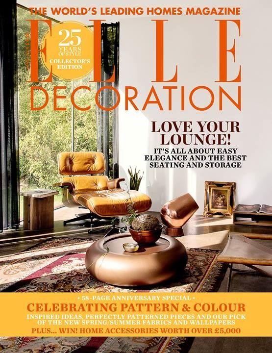 Sneak Peak At The Best Interior Design Magazines April Issues Elle Decor Interior Design Magazine Best Interior Design