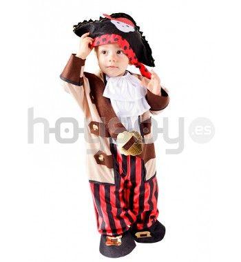 Original #disfraz para #bebé de #pirata para disfrutar de tu fiesta de disfraces #carnaval