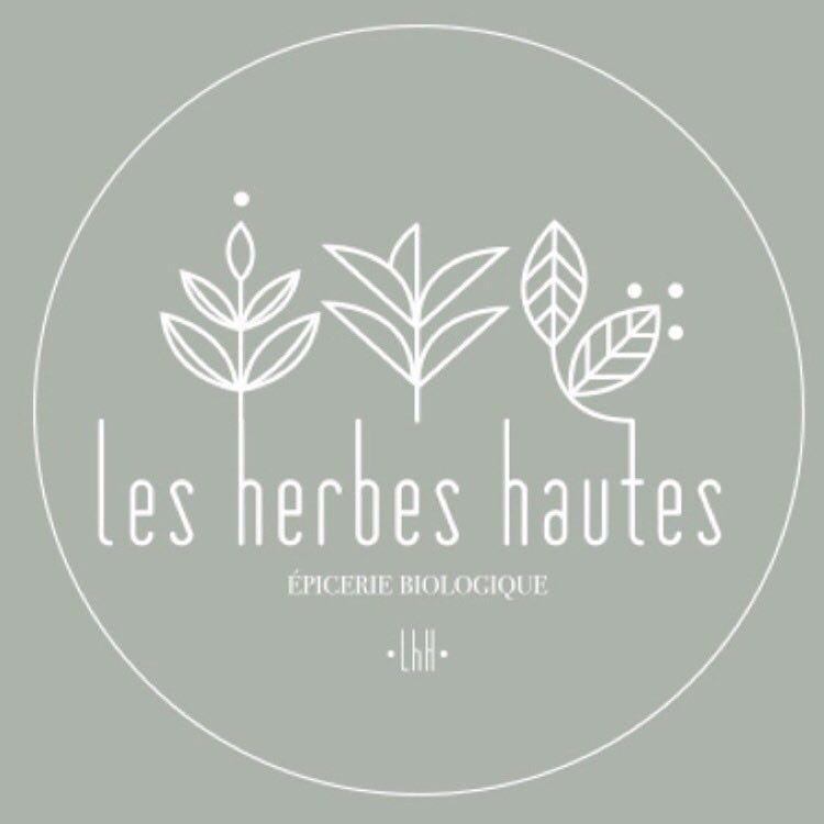 foto de Les herbes hautes | Epicerie bio, Herbe et Logos