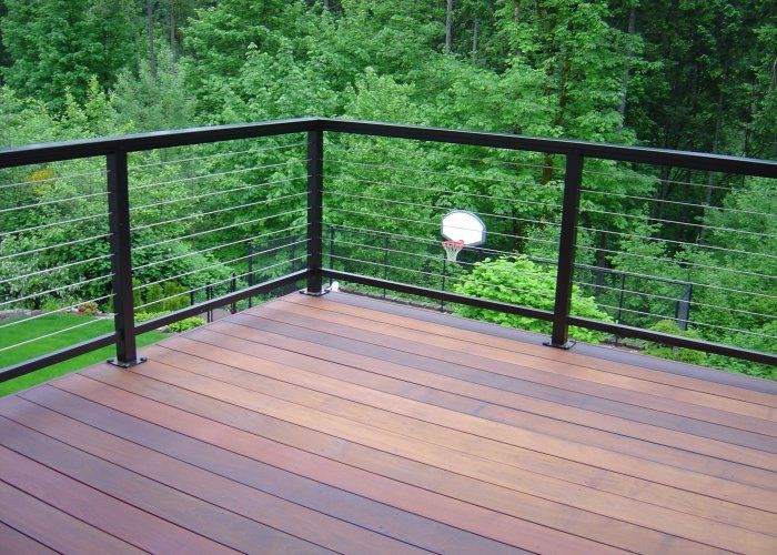 Canvas Of Horizontal Deck Railing The Advantages And Disadvantages Horizontal Deck Railing Patio Railing Outdoor Living Deck