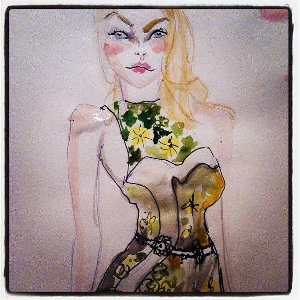 Blair Breitenstein @blairz Jessica stam in p...Instagram photo | Websta (Webstagram)