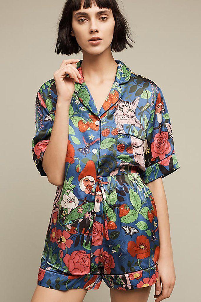 0544f8c5d0 Silk sleepwear by Karen Mabon for Anthropologie