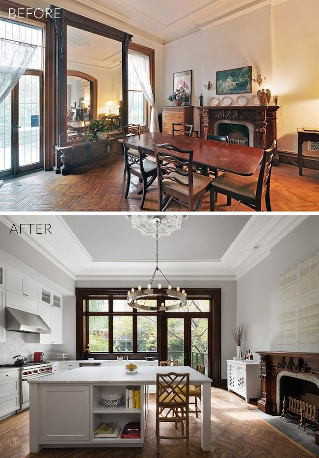 Before & After: Brooklyn Brownstone Kitchen Renovation | New house ...