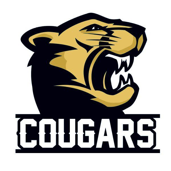 cougar mascot graphic cougars mascot temporary tattoo cougar rh pinterest com Cougar School Mascot Cougar Clip Art for Schools