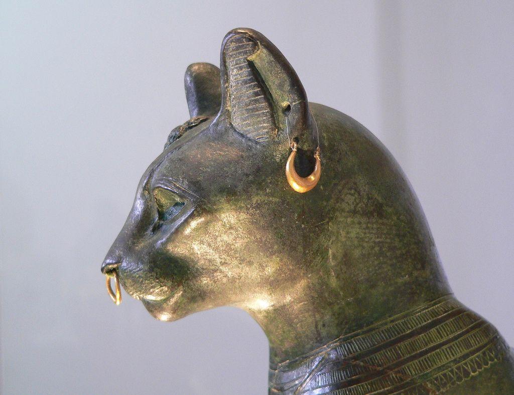 British museum bronze cat