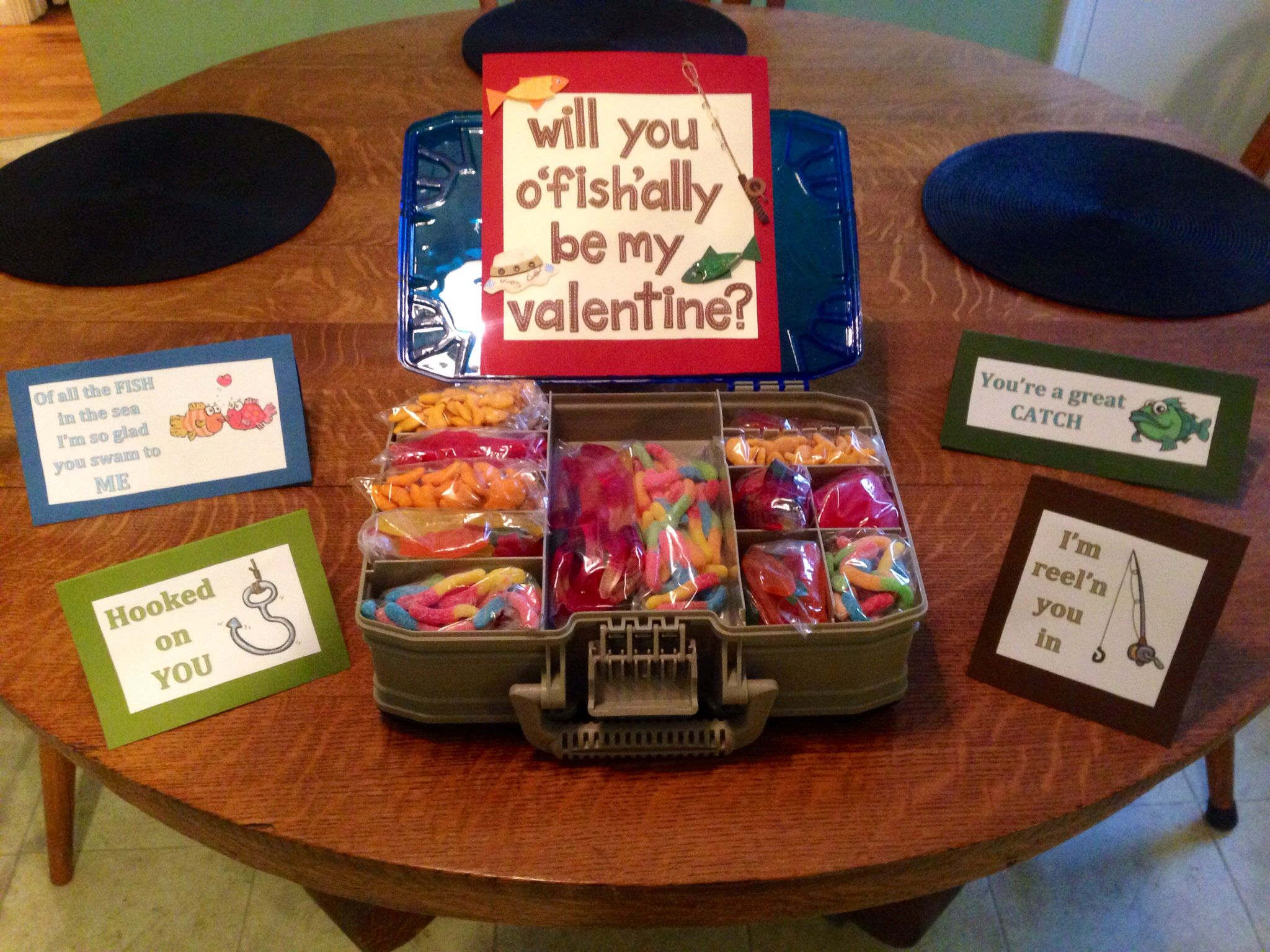 Valentine S Day Present For Guys Who Like Fishing Valentines