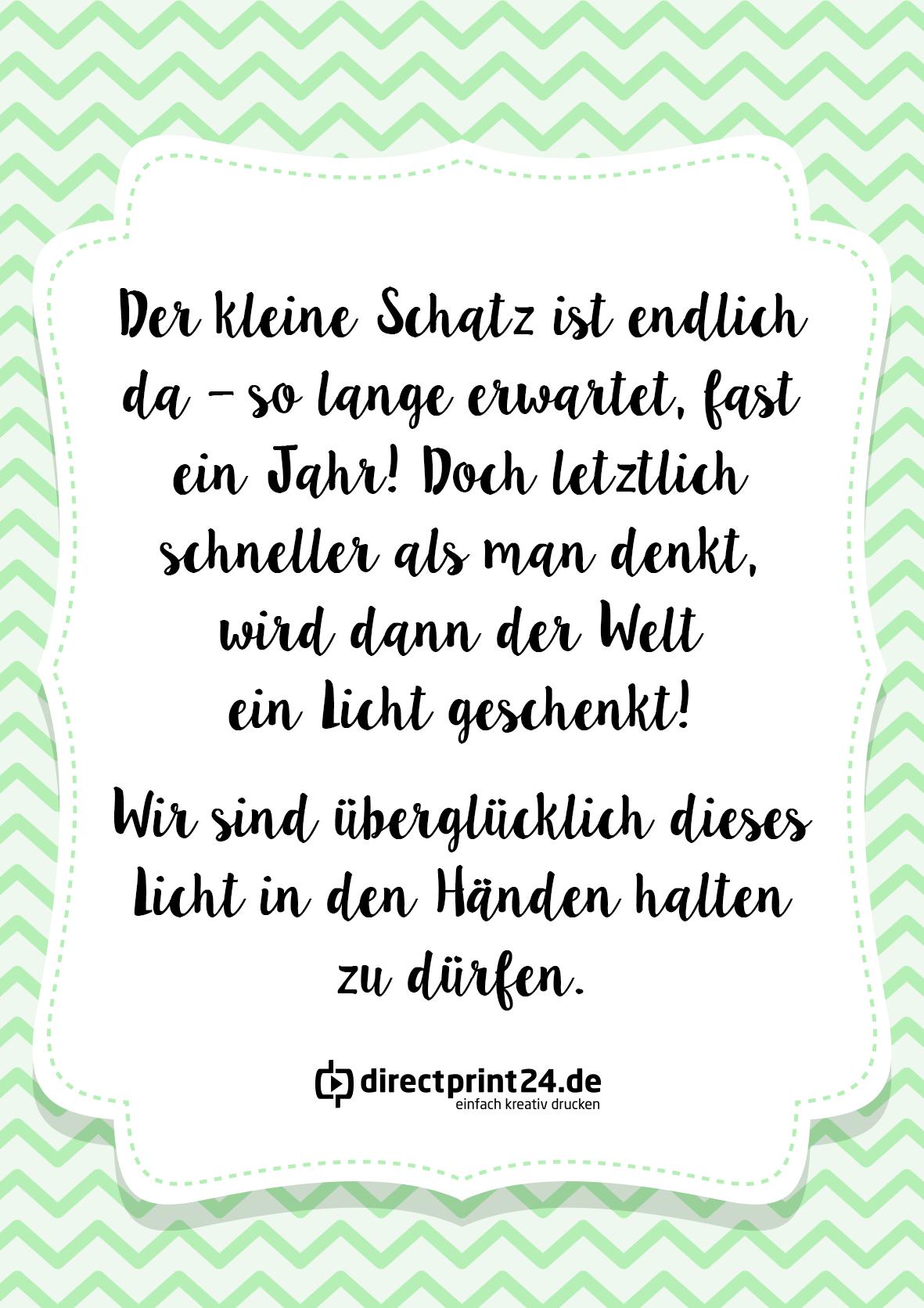 Bild Von Reichert C Auf Karten Spruche Fur Geburtskarten Spruche Zur Geburt