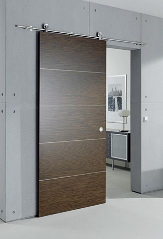 Great Modern Hardware For This Barn Door Concept Modern Exterior Doors Sliding Doors Interior Door Design Modern