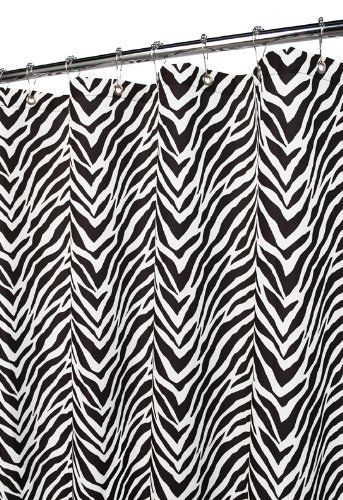 Park B Smith Watershed Zebra Zebra Black White 2 In 1 Shower