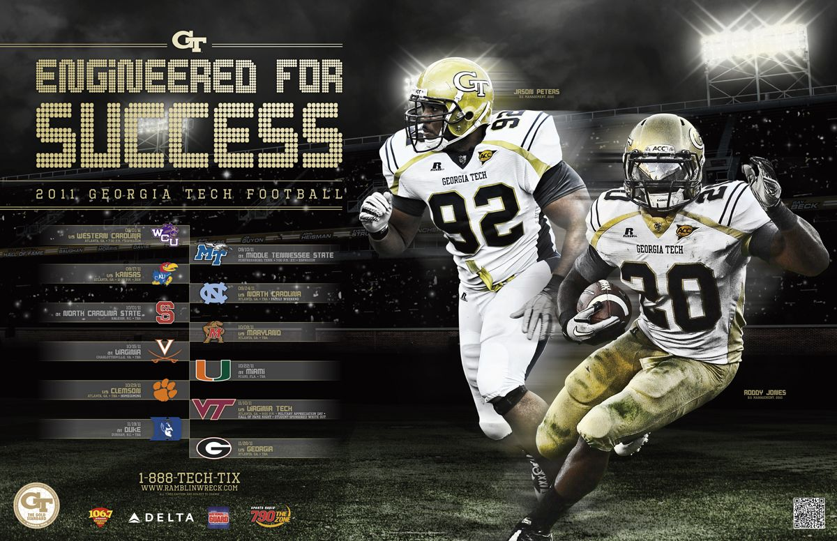 Georgia Tech Official Athletic Site Ramblinwreck Com Georgia Tech Football Tech Football Football Wallpaper