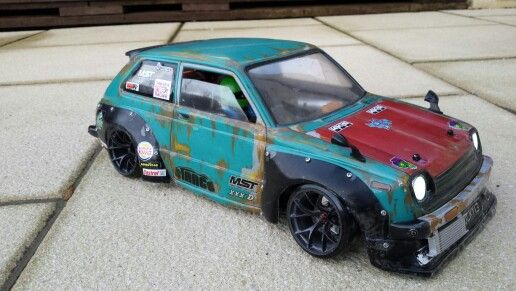 Pandora Toyota starlet rc drift wide body