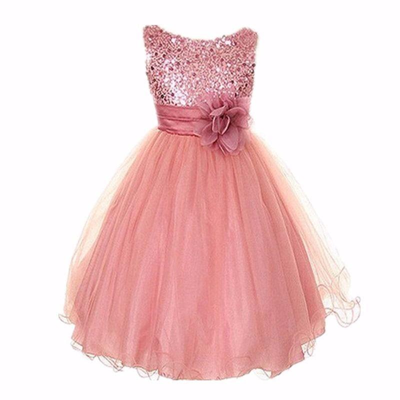 vestidos elegantes para fiestas de niñas | Дети | Pinterest ...