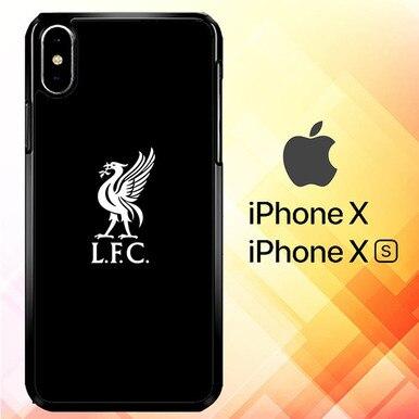 Liverpool Logo Black Background P1170 Iphone X Iphone Xs Case
