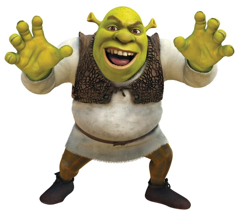 Shrek 2 Cartoon Characters : Shrek character and