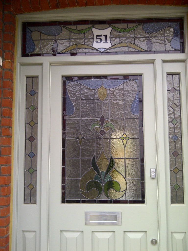 Edwardian Stained Glass Front Doors Google Search Idet