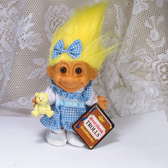 Vintage 1970's Russ Storybook Trolls Collectible By
