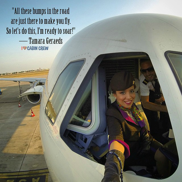 Cabin Crew Inspirational Quotes From Around The World Flight Attendant Quotes Cabin Crew Crew Quote